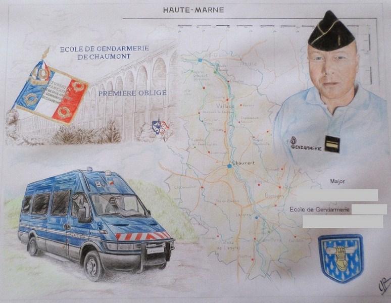 composition pour la gendarmerie